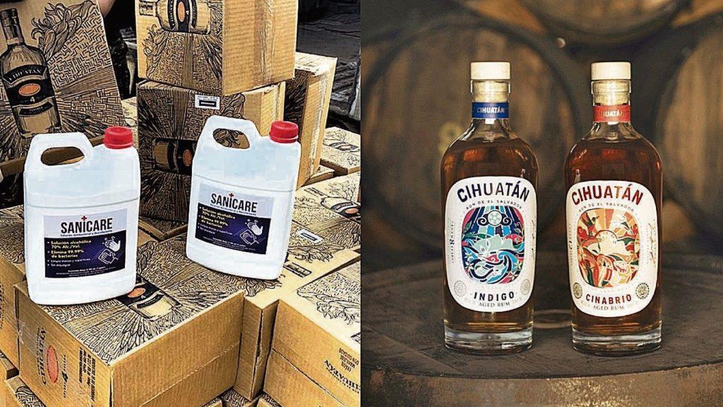 Licorera Cihuatán crea alcohol